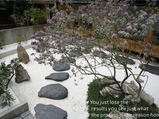 餐廳 日式庭園造景 洄瀾柴房 景觀工作坊 貨櫃屋改造 庭院