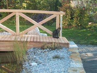 Holz im Garten Klassischer Garten von Galabau Michael Richter Klassisch