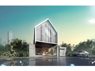 HOUSE | | PHAHOLYOTHIN 35: เขตร้อน  โดย MANA ATELIER CO.,LTD, ทรอปิคอล