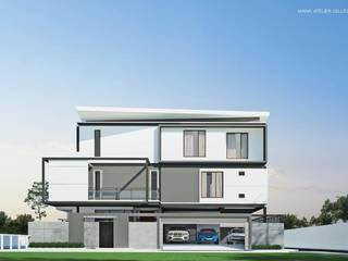 HOUSE | | SUKHUMVIT 62: ทันสมัย  โดย MANA ATELIER CO.,LTD, โมเดิร์น