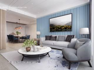 Living room by 鼎士達室內裝修企劃, Modern