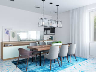Modern Dining Room by SK Interiors studio Modern
