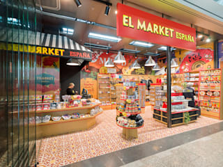 Tiendas El Market España: Aeropuertos de estilo  de Artelux