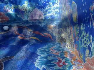 Бассейн Кипр Гостиницы в средиземноморском стиле от ООО 'GLOBAL INTERIOR' Средиземноморский