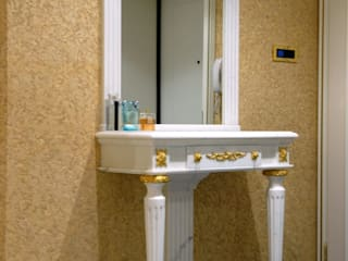 Камень : Ванные комнаты в . Автор – ООО 'GLOBAL INTERIOR', Классический