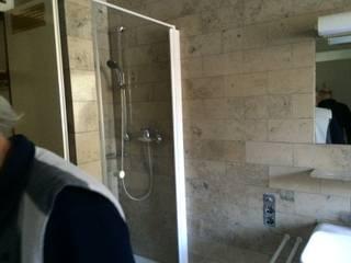 alte Dusche: rustikale Badezimmer von Das  Werkhaus Langerwisch