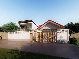 HOUSE | | SUANPAK 38: ที่เรียบง่าย  โดย MANA ATELIER CO.,LTD, มินิมัล
