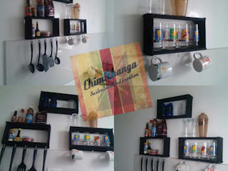 Respisas Cocina Rectangulares:  de estilo  por Chimichanga Sustentabilidad Creativa