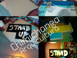 Cartel Stand Up:  de estilo  por Chimichanga Sustentabilidad Creativa