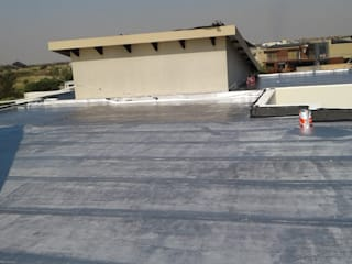 Waterproofing of a residential house slab roof in Serengeti Surburbs by Bem-Co Holdings