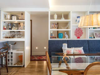 Hampton's Style: Salas de jantar  por Rê Freitas
