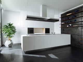 Nottingham NG11 Modern style kitchen by A33SOME CGI Studio Modern