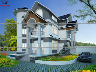 mẫu thiết kế nhà vườn đẹp:   by cong ty thiet ke xay dung biet thu