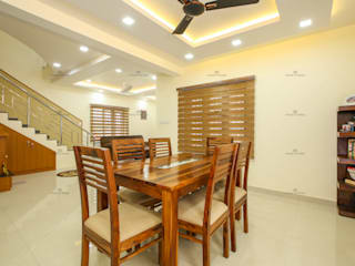 Sensational Look.. Classic style dining room by Monnaie Architects & Interiors Classic