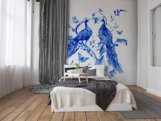 Sypialnia w stylu eklektycznym: styl , w kategorii  zaprojektowany przez MYLOVIEW
