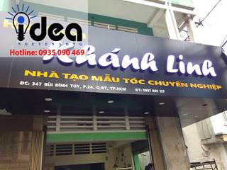 Làm bảng hiệu quảng cáo bởi Thiết kế in ấn bảng hiệu Nguyễn Long Idea