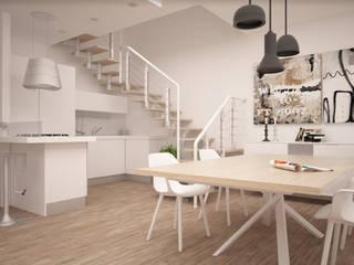 Una casa moderna ed elegante! Cantina moderna di interiorbe SRL Moderno