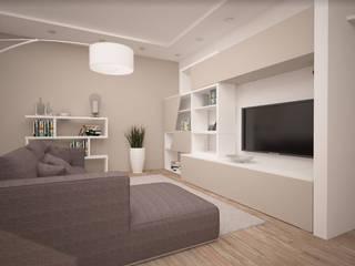 Una casa moderna ed elegante! Soggiorno moderno di interiorbe SRL Moderno