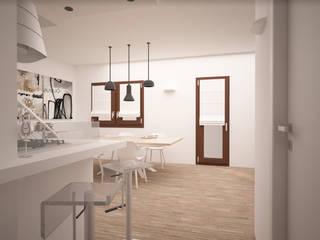 Una casa moderna ed elegante! Cucina moderna di interiorbe SRL Moderno