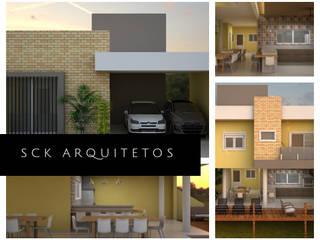 Casas de estilo moderno de SCK Arquitetos Moderno
