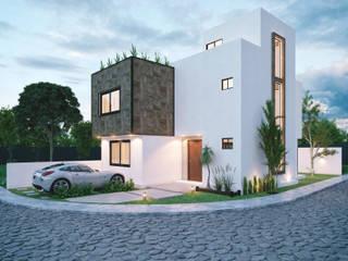 JASPE: Casas de estilo  por Integra Arquitectos
