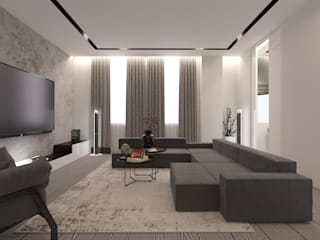 Phòng khách phong cách tối giản bởi Eli's Home Tối giản