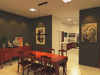 i†∂: Salas de jantar  por HPaleari ,Moderno