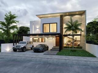 GARAMBULLO: Casas de estilo  por Integra Arquitectos
