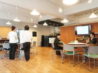 パルコーポレーション 事務所改装: トラス・アーキテクト株式会社が手掛けたオフィスビルです。