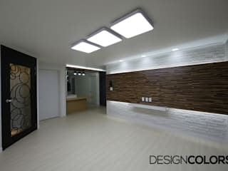 DESIGNCOLORS Modern living room Beige