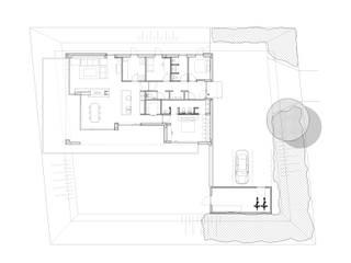 Villa DPM begane grond:   door Bruusk