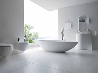 Sample Project Minimalist style bathroom by Subramanian- Homify Minimalist