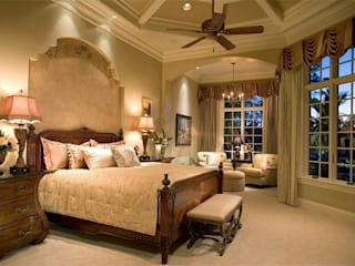 Sample Project 2 Mediterranean style bedroom by Subramanian- Homify Mediterranean