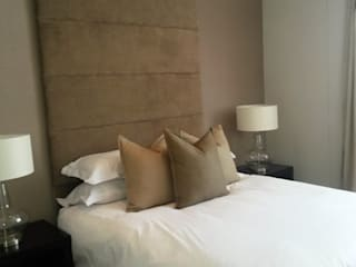 Sandton Style Penthouse Living CKW Lifestyle Associates PTY Ltd Modern style bedroom