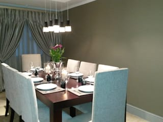 Sandton Style Penthouse Living: modern Dining room by CKW Lifestyle