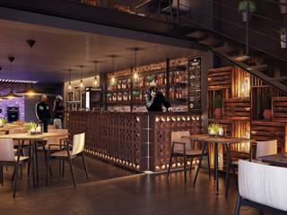 Bar & Klub Modern Oleh TACTIL Arquitectura Modern