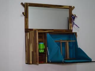 Mueble para zonas de transición:  de estilo  por Alejandro Martínez - Diseñador industrial, Minimalista