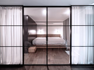 Modern style bedroom by WITHJIS(위드지스) Modern