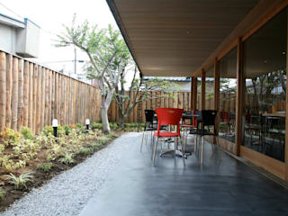 Scandinavian style commercial spaces by 株式会社高野設計工房 Scandinavian