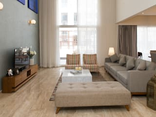 Living room image with seating Modern living room by Atom Interiors Modern