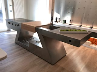 Built-in kitchens by ZED EXPERIENCE - indoor & outdoor kitchen