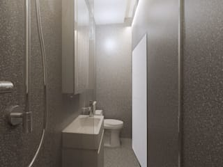 Bathroom:  Kamar Mandi by Co+in Collaborative Lab