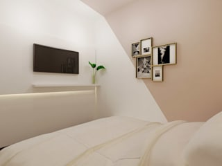 Masterbedroom:  Kamar Tidur by Co+in Collaborative Lab