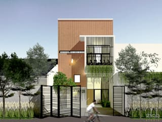 SEKALA Studio Modern Houses Bricks White