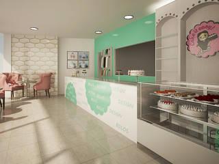 Sala de chá - cake it easy by rochinha Espaços de restauração clássicos por Espaços Renovados Clássico