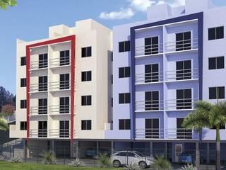 Blocos residenciais Casas modernas por Sheila Cyrne - Arquitetura do Bem Estar - Moderno