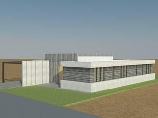Casa GC: Casas de estilo  por Clara Correas Arquitecta
