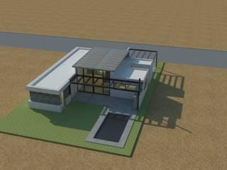 Casa GC: Casas de estilo moderno por Clara Correas Arquitecta