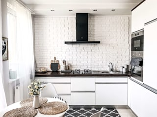 GLOBALO MAX 置入式廚房 磚塊 White