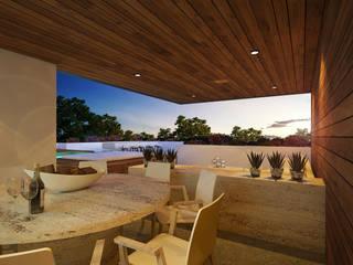 in stile  di Daniel Cota Arquitectura | Despacho de arquitectos | Cancún